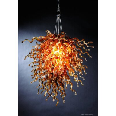 Trend Lighting Corp. Trapieze 6 Light Pendant