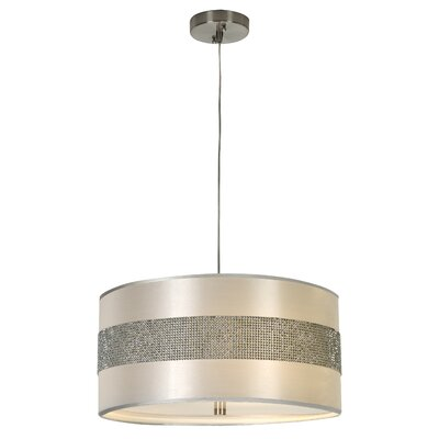 Harmony 3 Light Drum Foyer Pendant