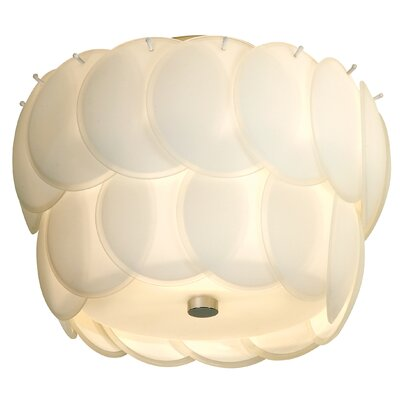 Trend Lighting Corp. Selene 1 Light Semi Flush Mount