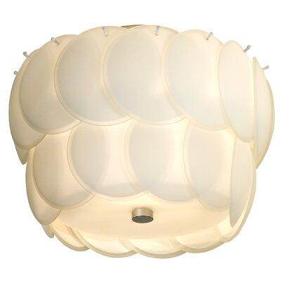 Trend Lighting Corp. Selene 1 Light Semi Flush Mount