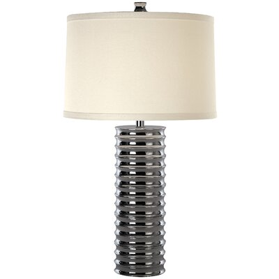 "Trend Lighting Corp. Wave 30"" H Table Lamp with Drum Shade"