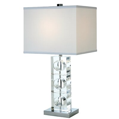 "Trend Lighting Corp. Rhapsody 25"" H Table Lamp with Rectangle Shade"
