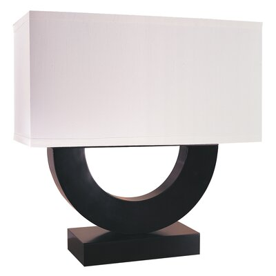 "Trend Lighting Corp. Virago 22.5"" H Table Lamp with Rectangle Shade"