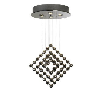 Trend Lighting Corp. Spin 4 Light Chandelier