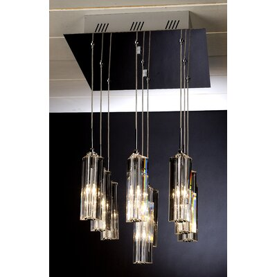 Trend Lighting Corp. Diamante 9 Light Pendant
