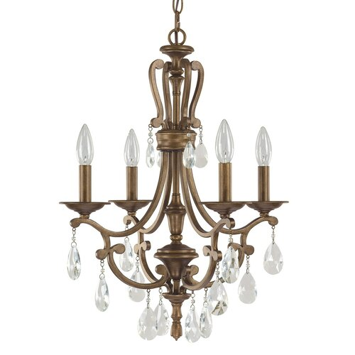 Claybourne 4 Light Candle Chandelier