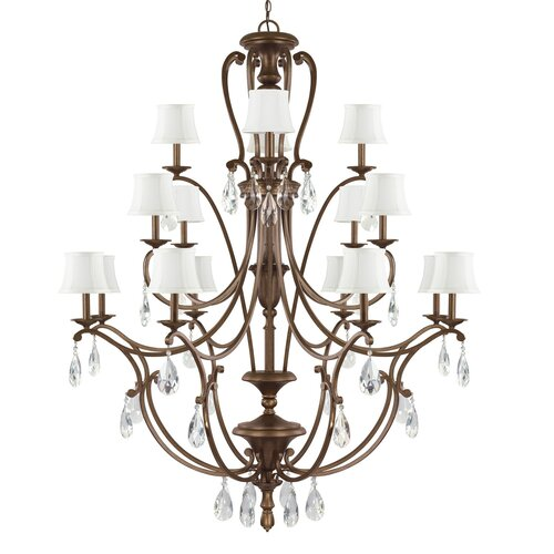 Claybourne 16 Light Chandelier