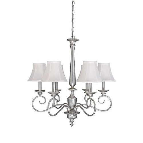 Capital Lighting Hammond 6 Light Chandelier