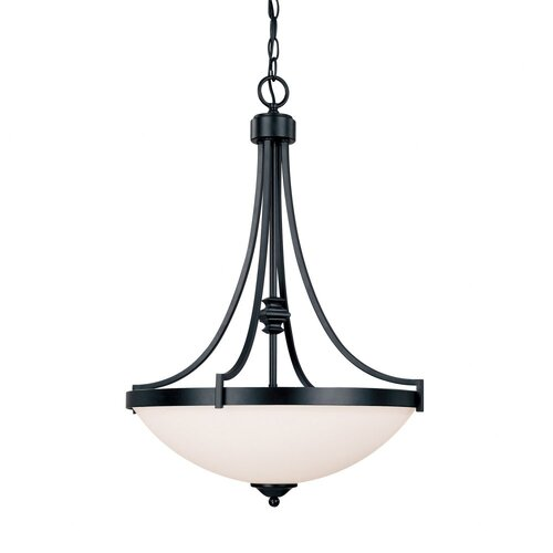 Capital Lighting Towne and Country 3 Light Inverted Pendant