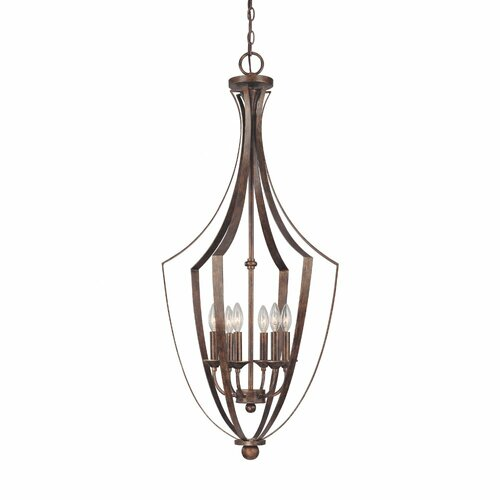 Capital Lighting Soho 6 Light Foyer Pendant