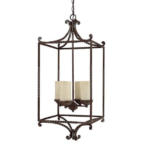 Capital Lighting Highlands 4 Light Foyer Pendant