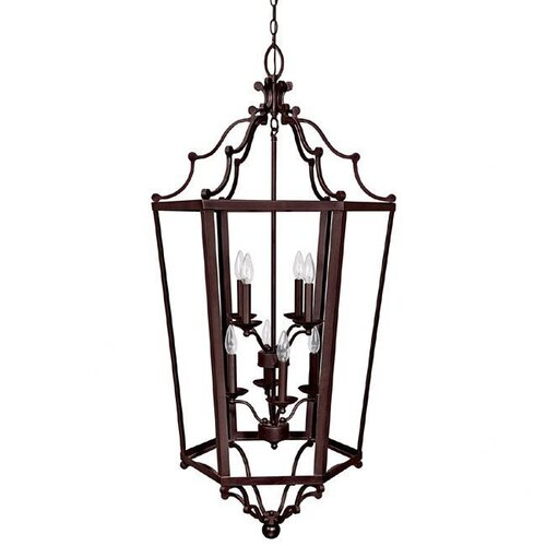 Capital Lighting 8 Light Foyer Pendant