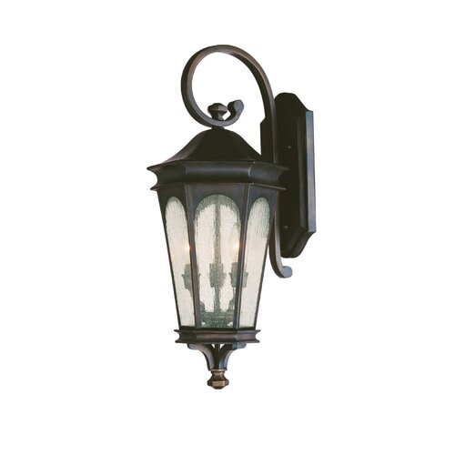 Capital Lighting Inman Park 3 Light Outdoor Wall Lantern