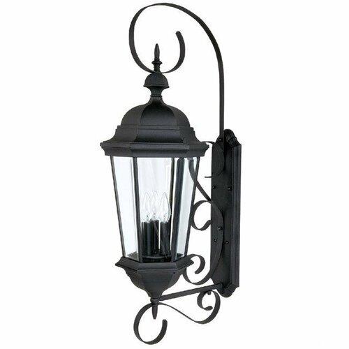 Capital Lighting Carriage House 3 Light Outdoor Wall Lantern