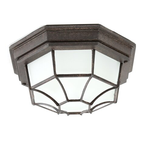 Capital Lighting 2 Light Outdoor Flush Mount