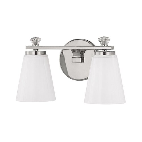 Capital Lighting Alisa 2 Light Bath Vanity Light