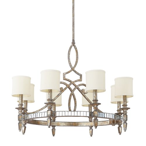 Palazzo 8 Light Drum Chandelier