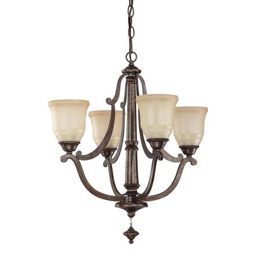 Corday 4 Light Petite Chandelier