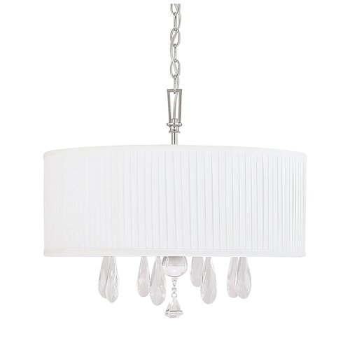 Capital Lighting Alisa 4 Light Crystal Chandelier