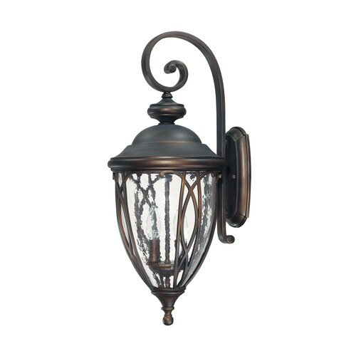 Capital Lighting Astor 2 Light Outdoor Wall Lantern