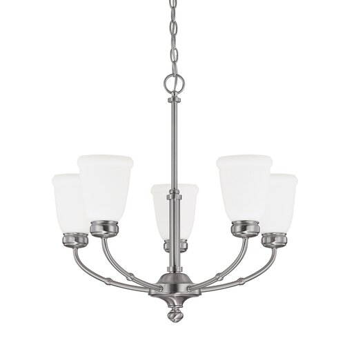 Capital Lighting Flynn 5 Light Chandelier