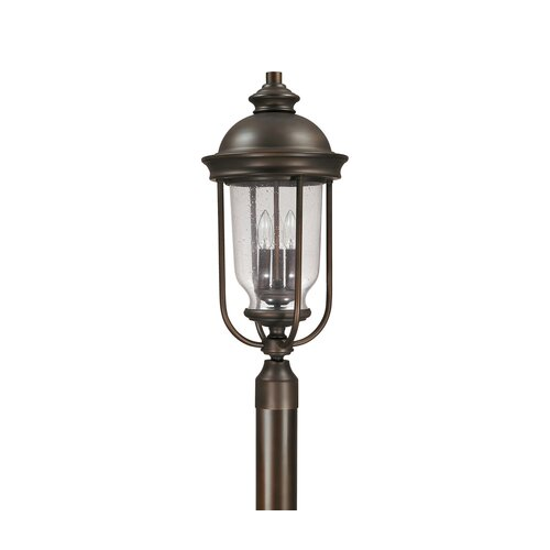 Capital Lighting York 3 Light Post Lantern
