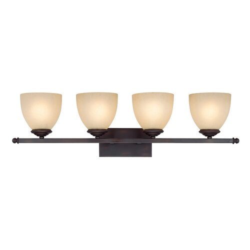 Capital Lighting Chapman 4 Light Bath Vanity Light