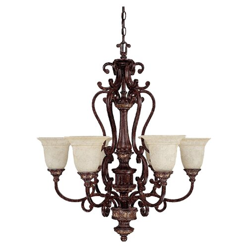 Chesterfield 6 Light Chandelier