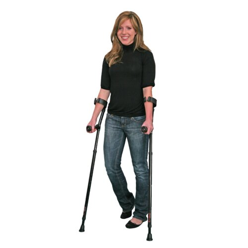 Millennial Medical In-Motion Forearm Tall Ergonomic Forearm Crutch