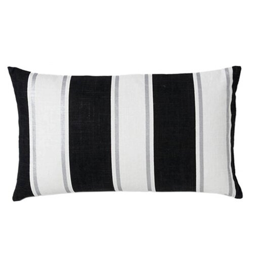 Vertival Stripes Linen Decorative Pillow
