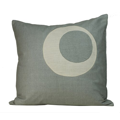 Half Moon Matka Silk Decorative Pillow