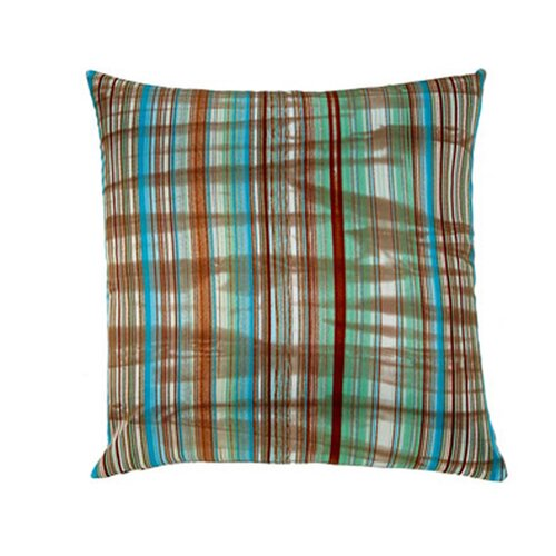 Stripes Square Polyester Decorative Pillow