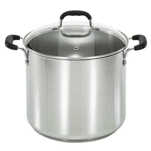 12-qt. Stock Pot with Lid