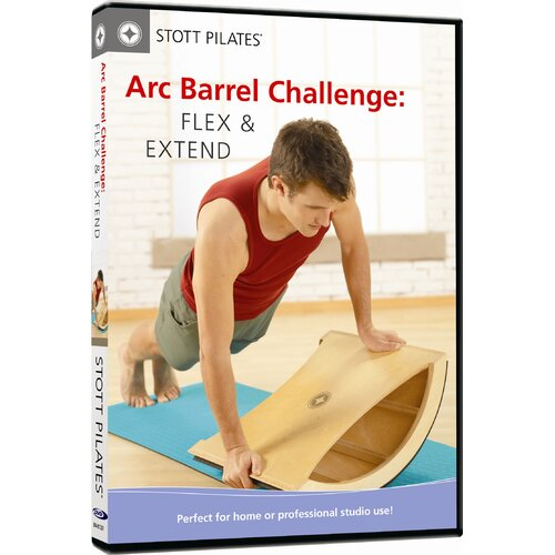 STOTT PILATES Arc Barrel Challenge Flex and Extend DVD