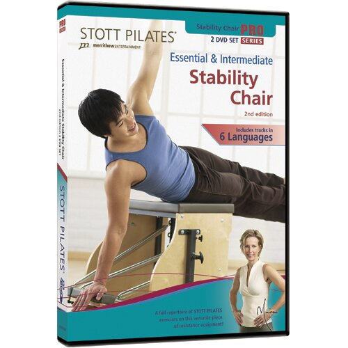 STOTT PILATES 2nd Edition Essential and Intermediate Stability Chair DVD