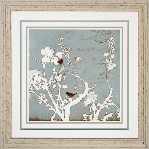 Propac Images Song Birds III / IV 2 Piece Framed Graphic Art Set