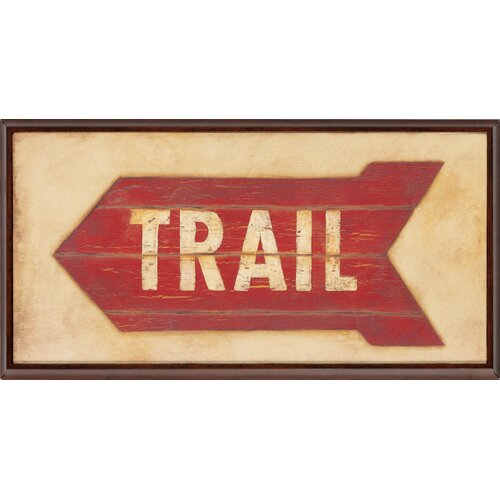 Trail / Cabins / Lake 3 Piece Framed Textual Art Set (Set of 3)