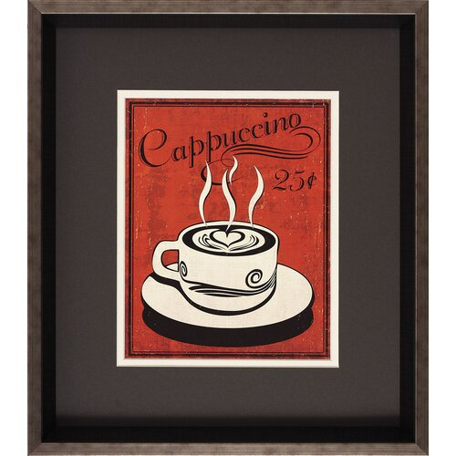 Propac Images Retro Coffee I/III 2 Piece Framed Painting Print