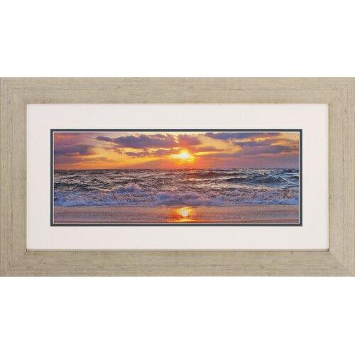 Propac Images La Isla Bonita I / II 2 Piece Framed Photographic Print Set