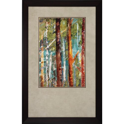 Propac Images Wooldand I / II / III 3 Piece Framed Painting Print Set
