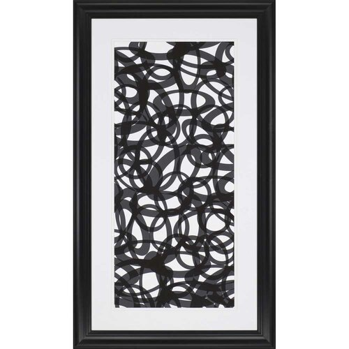 Going in Circles Exclusive Framed Graphic Art