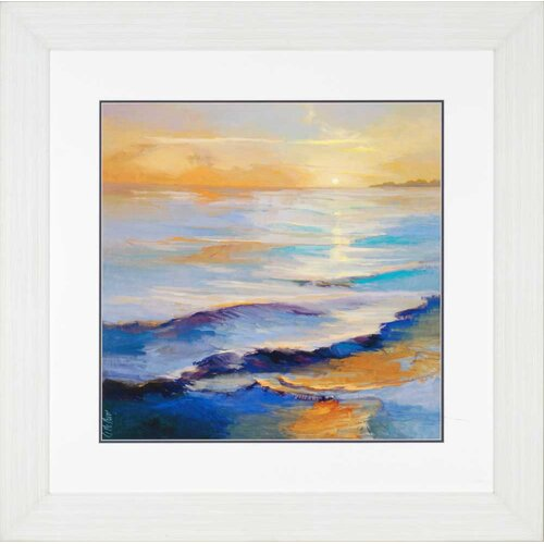 Ocean Overture by McMurry Framed Painting Print