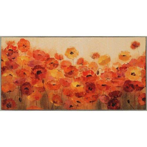Summer Poppies by Vassileva Framed Painting Print