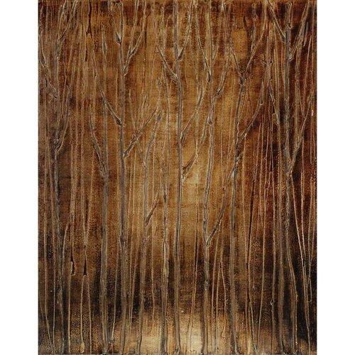 Dark Forest Original Painting on Canvas