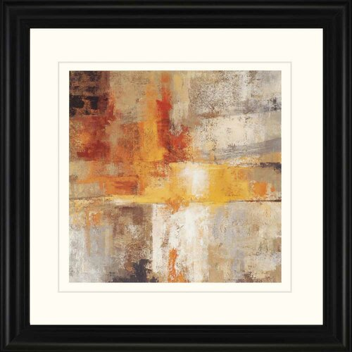 Silver and Amber by Vassileva Framed Painting Print