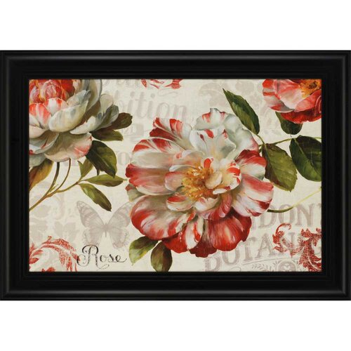 Spring Flair I by Audit Framed Painting Print
