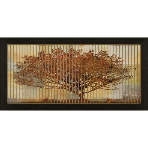 Autumn Radiance by Chandan Framed Graphic Art