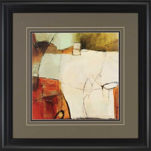Study No. 126 by Anderson Framed Painting Print
