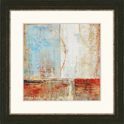 Paragon Composition II by Dolce Framed Graphic Art