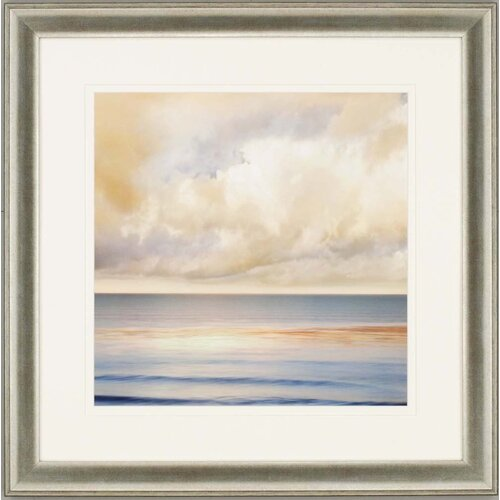 Paragon Ocean Light II by Seba Framed Painting Print